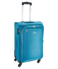 Get 45% off on Pronto Blue S (Below 60cm) Cabin Soft Luggage