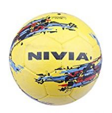 Nivia Storm Football, Size 5 (Yellow) for Rs. 400