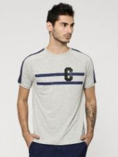 KOOVS Stripe Ringer T-Shirt for Rs. 515