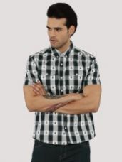 Get 50% off on KOOVS Aztec Check Shirt