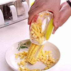 Buy Inovera Plastic Corn Kernel Stripper Peeler Cutter Seeds Remover, White from Amazon