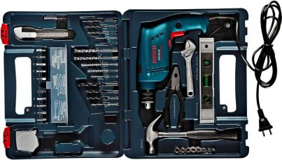 Bosch GSB 500 RE Power & Hand Tool Kit  (92 Tools) for Rs. 3,299