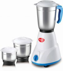 Buy Pigeon Gusto 550 W Juicer Mixer Grinder  (White, 3 Jars) for Rs. 1,499