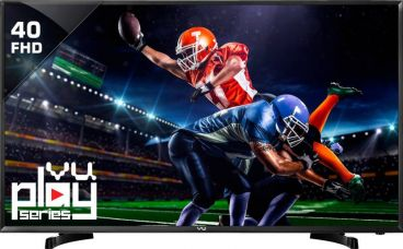 Buy Vu 102cm (40) Full HD LED TV  (40D6575, 2 x HDMI, 1 x USB) for Rs. 24,999