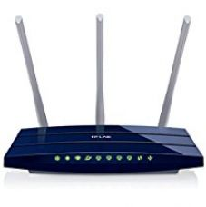 Buy TP-Link TL-WR1043ND 450Mbps Wireless N Gigabit Router (Blue) 2-pin from Amazon