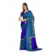 Maxis Printed Mysore Art Silk Saree for Rs. 550