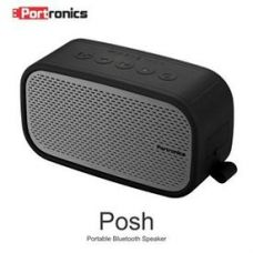 Flat 40% off on Portronics Posh Water Resistent Bluetooth Speaker (with Aux-in/Mic) - Black