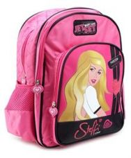 Get 51% off on Steffi Love Pink Stylish Back Pack - 16 Inches