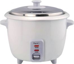 Get 26% off on Pigeon Favourite Electric Rice Cooker with Steaming Feature  (1 L, White)