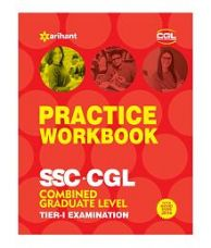 Buy SSC CGL 50 Practice Workbook Combined Graduate Level Tier-I Examination 2017 for Rs. 455
