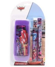 Flat 10% off on Disney Pixar Cars Stationary Set - Multicolour