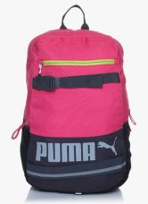Buy Puma Deck Pink Backpack for Rs. 1299