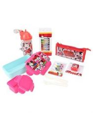 Flat 21% off on Disney Minnie Mouse School Kit - Pink And Blue