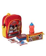 Get 21% off on Disney Mickey Mouse School Kit - Red And Yellow