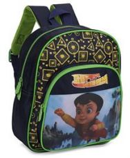 Get 21% off on Chhota Bheem School Bag Green And Navy - 12 Inches