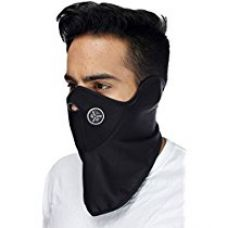 Buy Flomaster Half Face Riding Mask (Black) from Amazon