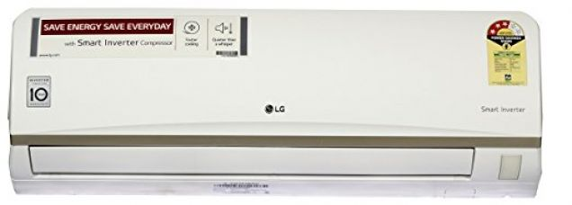 Buy LG 1 Ton 3 Star Inverter Split AC (JS-Q12ATXD, White) from Amazon