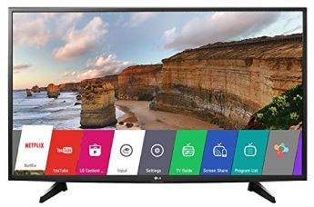 Buy LG 108 cm (43 inches) 43LH576T Full HD Smart LED IPS TV (Black) from Amazon