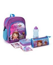 Flat 21% off on Disney Sofia The First School Kit - Purple