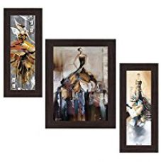 Buy Wens 'Fashion In Molding Style' Wall Art (MDF, 29.5 cm x 24.5 cm, WSP-4324) from Amazon