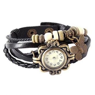 Get 90% off on Jack klein Black Vintage Watch For Women