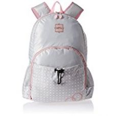 HOOM Polyester  Grey and Pink Children'S Backpack (HMSOSB 006-HM) for Rs. 1,499