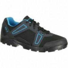 Get 41% off on Btwin Mountain Bike Touring Shoes 300 - Black/Blue