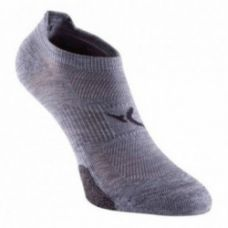 Get 75% off on 500 Invisible Fitness Socks Twin-Pack - Grey