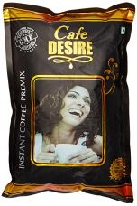 Cafe Desire Certified Instant Coffee Premix - 1 kg, Free 1 water measuring beam, 1 wooden spoon and 10 stirrers for Rs. 332