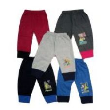 Buy Multicolor Kids Rib Track Pant (Pack of - 5) from ShopClues