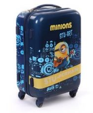 Minions Stu Perman Trolley Bag Blue - 20 Inches for Rs. 3633
