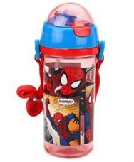 Buy Marvel Spider Man Sipper Bottle Blue And Red - 600 ml from FirstCry