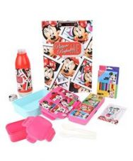 Buy Disney Minnie Mouse School Kit - Pink And Blue for Rs. 789