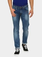 Buy Peter England Jeans Men Blue Skinny Fit Jeans from Abof