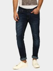 Buy Peter England Jeans Men Navy Slim Fit Jeans from Abof