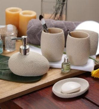 Bathroom Accessories Jabong flat 17% off on ss silverware cream ceramic bathroom accessories