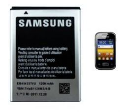 Get 75% off on Samsung EB454357VU 1200mAh Li Ion Battery for Samsung Galaxy Pocket S5300