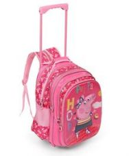 Flat 20% off on Peppa Pig Trolley School Bag Pink - 16 inches