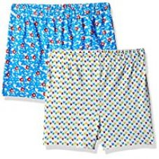 Buy Disney Mickey Mouse Boys' Shorts (Pack of 2) from Amazon