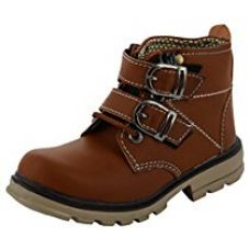 ESSENCE Baby Boys' Brown High Top Shoes - 11 UK for Rs. 499