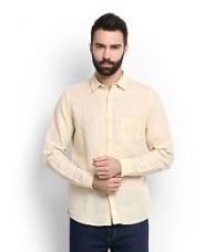 Buy United Colors of Benetton Beige Casuals Slim Fit Shirt for Rs. 1290