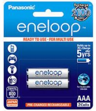 Buy Panasonic Eneloop BK-4MCCE/2BN Rechargeable Battery 2 x AAA 800mAh from SnapDeal