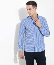 Buy Yepme Stefan Striped Shirt - Blue from Yepme