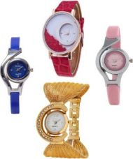 Buy TRUE COLORS GLORY COMBO BEST OFFER PARISH FASHION 2016 Analog Watch  - For Girls from Flipkart