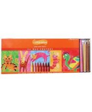 Flat 10% off on Apsara - Colorama 24 Wax Crayons