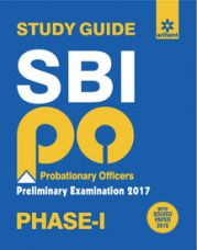 Flat 41% off on Sbi Po Phase- 1 Preliminary Examination Study Guide 2017