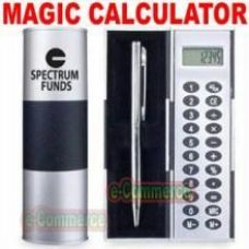 Magic Rotating Calculator With Pen & Case -giftset for Rs. 389