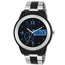 Swisstyle Analogue Black Dial Mens Watch-Ss-Gr8555-Blu-Ch for Rs. 379
