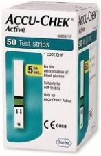 Buy 50 Test Strips for Accu-Chek Active from Ebay