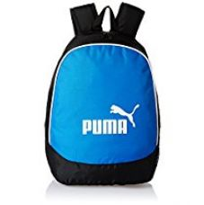Puma Black and Blue Casual Backpack (7213302) for Rs. 601